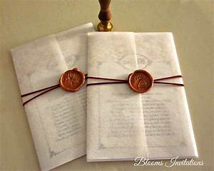 Wax seal wedding invitation cards for Wedding invitations with sealing wax