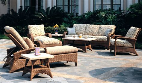 cayman wicker sofa chaise patio renaissance outdoor
