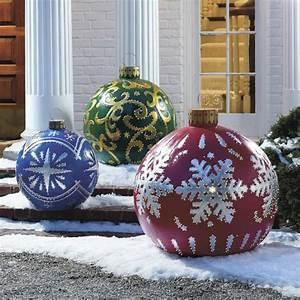 Große Weihnachtskugeln Für Außenbereich : kreative alternative und traditionelle weihnachtsdekoration f r ihr zuhause ~ Eleganceandgraceweddings.com Haus und Dekorationen