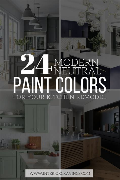 Paint Your Kitchen by 24 Modern Neutral Paint Colors For Your Kitchen Remodel