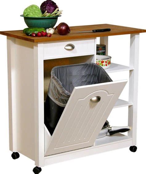 Kitchen Impressive Tilt Out Kitchen Trash Can Cabinet