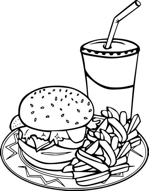 white food coloring hamburger coloriage my