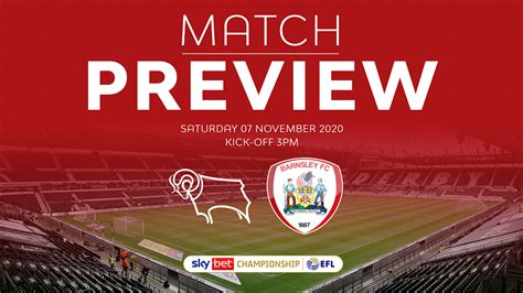 DERBY COUNTY PREVIEW - News - Barnsley Football Club