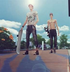 Kk Sims Baggy Cropped Pants 10 Set Sims 4 Downloads