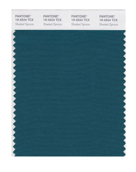 spruce color buy pantone smart swatch 19 4524 shaded spruce