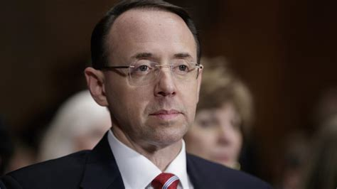 rod rosenstein  russian contacts   officials