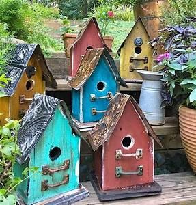 Barn, Wood, U0026, Tin, Rustic, Birdhouses