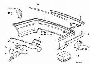 Bmw M3 Bumper Trim Panel  Rear