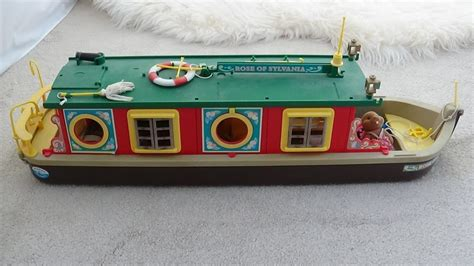 Sylvanian Families Canal Boat by Sylvanian Families Canal Boat Original Calico Critters