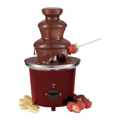 fuentes de chocolate electrodomesticos el corte ingles