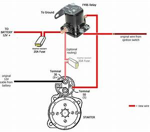 Ford Starter Solenoid Wire Diagram
