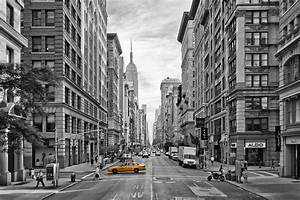 Bild New York Schwarz Weiß : feine art manufaktur und galerie new york schwarz wei gelbes taxi ~ Bigdaddyawards.com Haus und Dekorationen