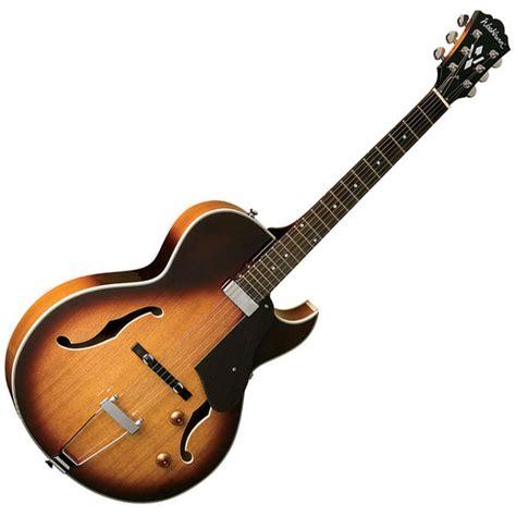 washburn hb15ctsk hollow guitar tobacco sunburst at
