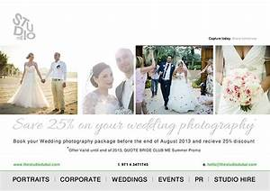 summer discounts special offers With wedding photography offers