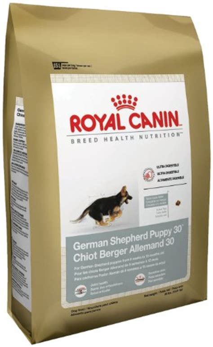 large breed puppy food  german shepherds