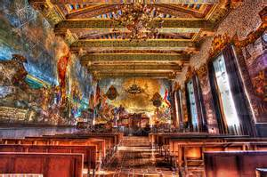 the mural room hdr 2 santa barbara courthouse by