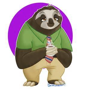 Sloth Flash Zootopia