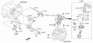 2014 Kia Rio Gear Shift Control-manual