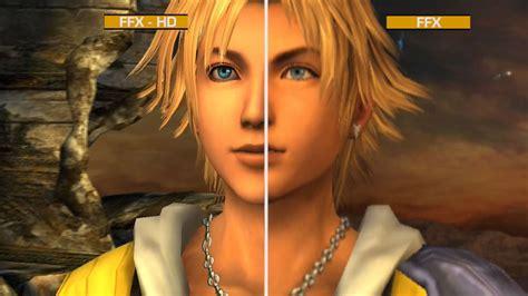 final fantasy  hd graphics comparison ps gamespot