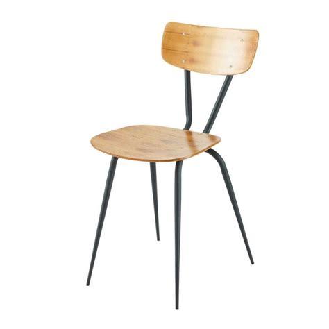chaise industrielle maison du monde chaise vintage maisons du monde