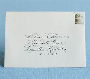 how to address wedding invitations real simple party With how to address informal wedding invitations