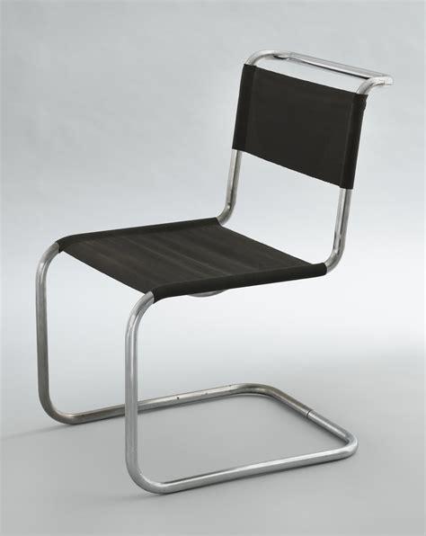 chaise marcel breuer chair model b33 marcel breuer 1927 28 chrome plated tubular steel with steel thread seat