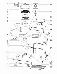 Weber 1411004 Parts List And Diagram