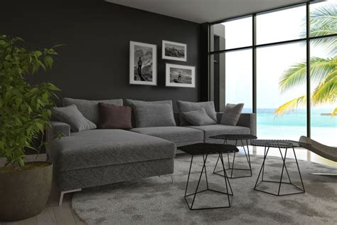 Graue Couch Welche Wandfarbe