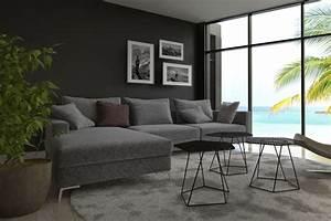 graue wandfarbe der edle trend an der wand graue wande With balkon teppich mit löcher in der wand tapete