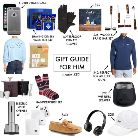 gift guide for him under 50 a southern drawl