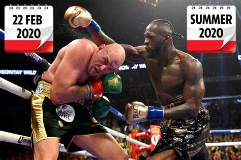 Tyson Fury vs Deontay Wilder 2 will be announced next week ...