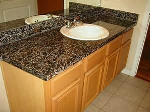 Painting Laminate Countertops To Look Like Granite at Home