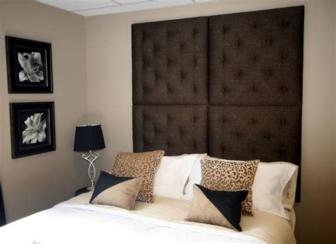Headboard Wall Panels by Wall Huggers Designer Chic Upholstered Wall Panels