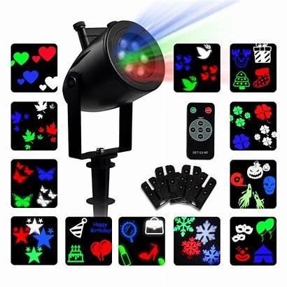 Halloween Indoor Projector Led Spotlight Night Holiday