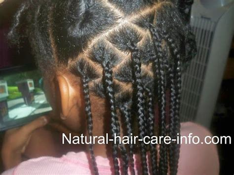 box braid tutorial natural hair care info littles