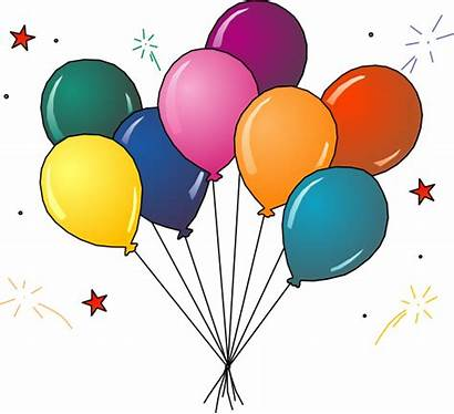 Balloon Clipart Ballons Party Clip Bunch