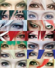 Anime Cosplay Eye Makeup