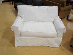 Oversized Sofa Chair Slipcover by Low Camel Arm Chair 1 2