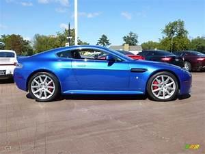 Cobalt Blue 2012 Aston Martin V8 Vantage S Coupe Exterior ...