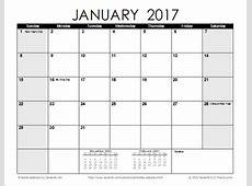 Calendar 2019 2018 Calendar Printable with holidays list