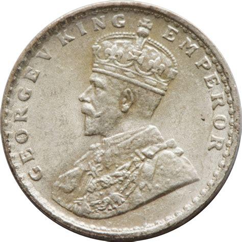 2 Annas - George V - India - British - Numista