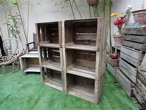 L Art De La Caisse : caisse pomme en bois ancienne en tr s bon tat ~ Carolinahurricanesstore.com Idées de Décoration