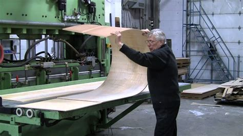 bending plywood  patented bend  ply method youtube