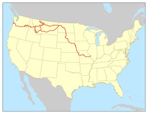Lewis and Clark National Historic Trail - Wikipedia