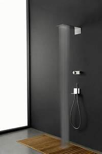 Douche À L Italienne Moderne : douche l 39 italienne avec robinetterie moderne en 99 ~ Voncanada.com Idées de Décoration