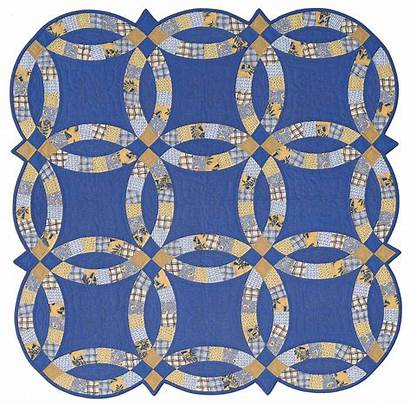 Ring Double Quilt Template Instructions Quilting Templates