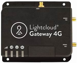 Gateway 4g For Networked Lighting Controls Over Cellular