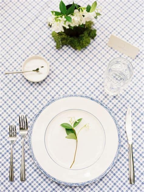 simple table settings 24 elegant summer wedding ideas tulle chantilly wedding blog