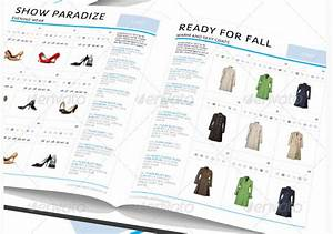 10 fashion clothing catalog templates to boost your business for Clothing catalog template