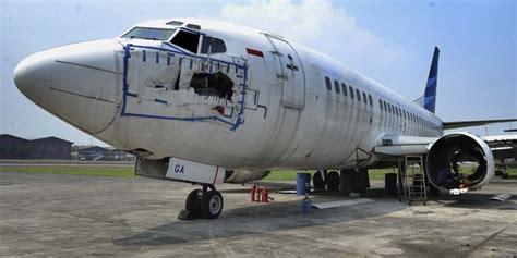 Aborsi Semarang Harga Bangkai Pesawat Garuda Indonesia Setara Nissan X